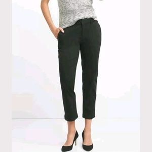 GAP Tailored Crop Straight Stretch Trousers Pants